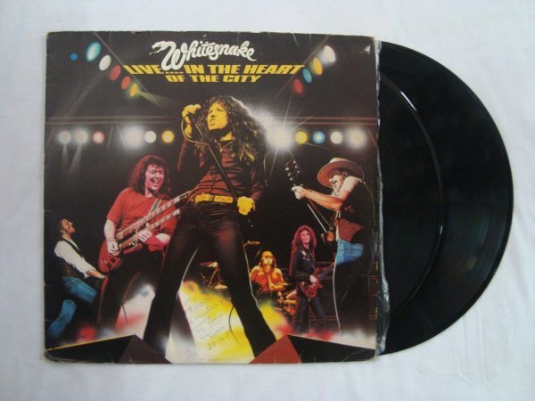 Disco de Vinil - Whitesnake - Live in the heart of City
