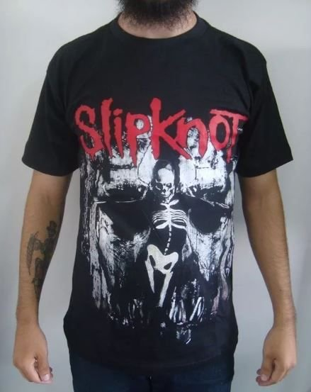 Camiseta Slipknot - The Grey Chapter