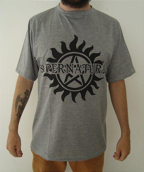 Camiseta Sublimada - Supernatural - Símbolo Anti-Possessão