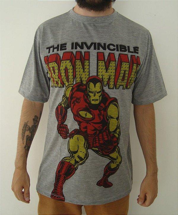 Camiseta Sublimada Homem de Ferro - Iron Man