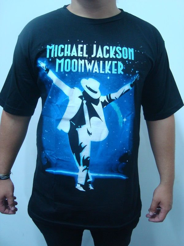 Camiseta Michael Jackson - Moonwalker