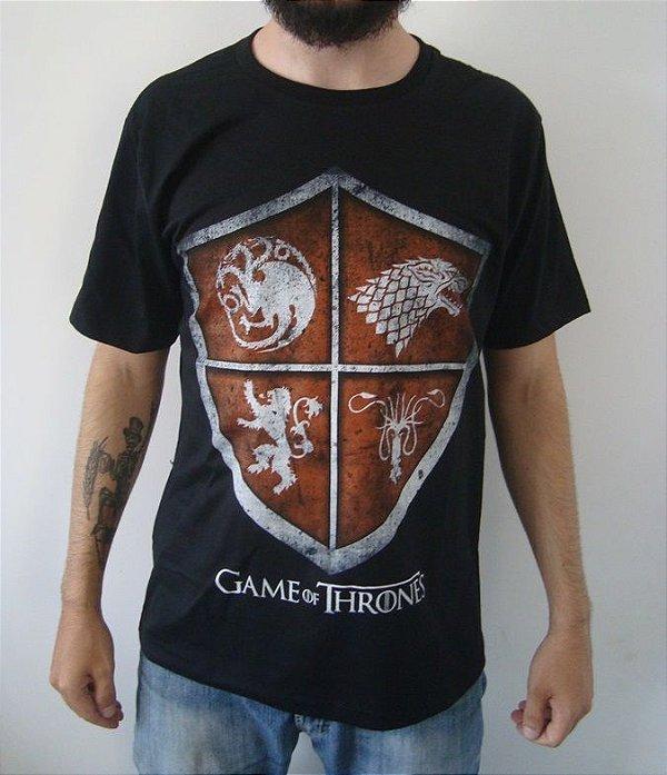Camiseta Game of Thrones - Escudo