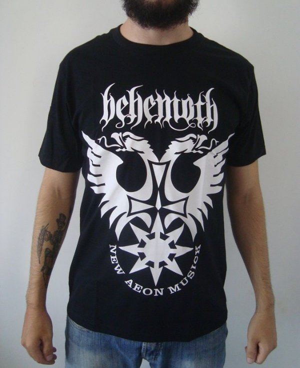 Camiseta Behemoth - New Aeon Musick