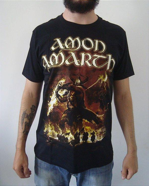 Camiseta Amon Amarth - Sutur Rising