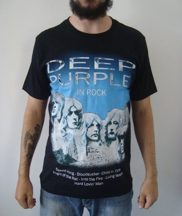 Camiseta Deep Purple - In Rock