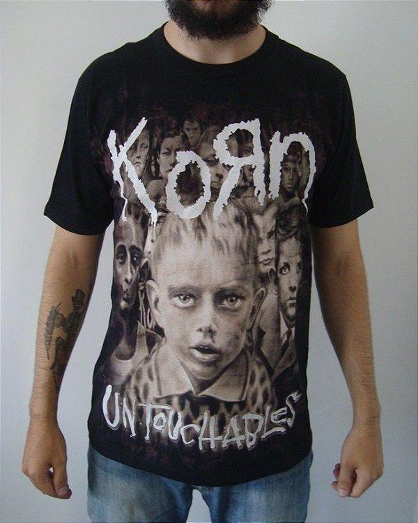 Camiseta Korn - Untouchables