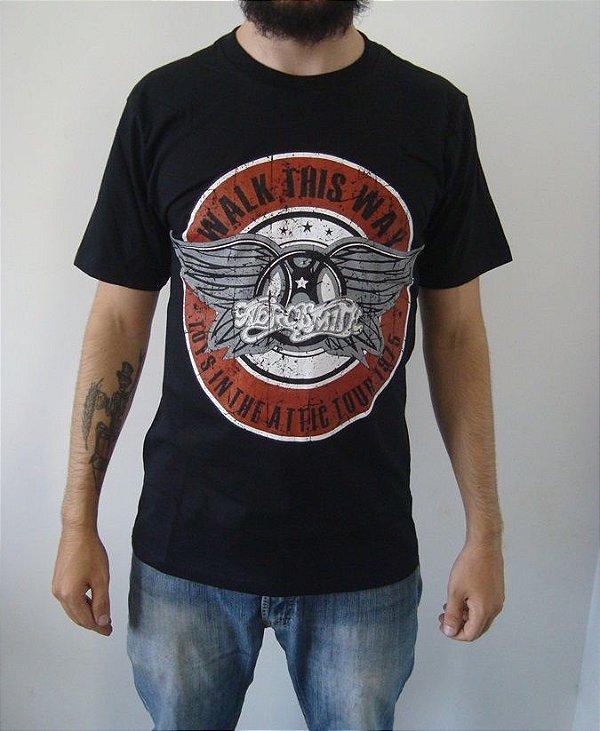 Camiseta Aerosmith - Walk this Way