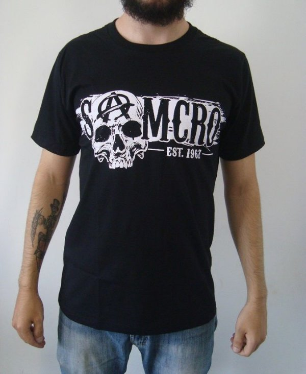 Camiseta Sons of Anarchy - Samcro - 1967