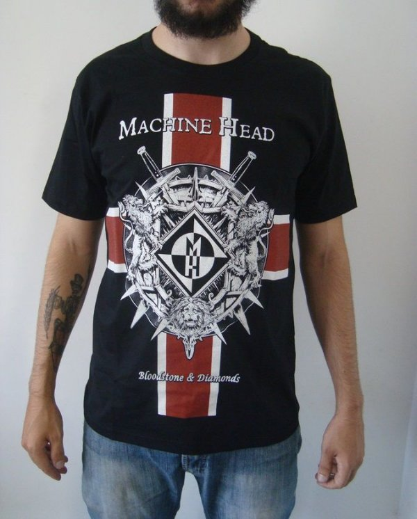 Camiseta Machine Head - Bloodstone & Diamonds