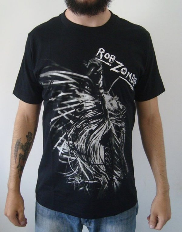Camiseta do Rob Zombie