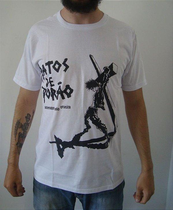 Camiseta Ratos de Porão - Sistemados pelo Crucifa