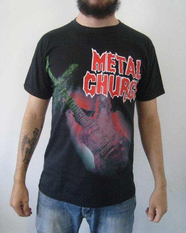 Camiseta Metal Church