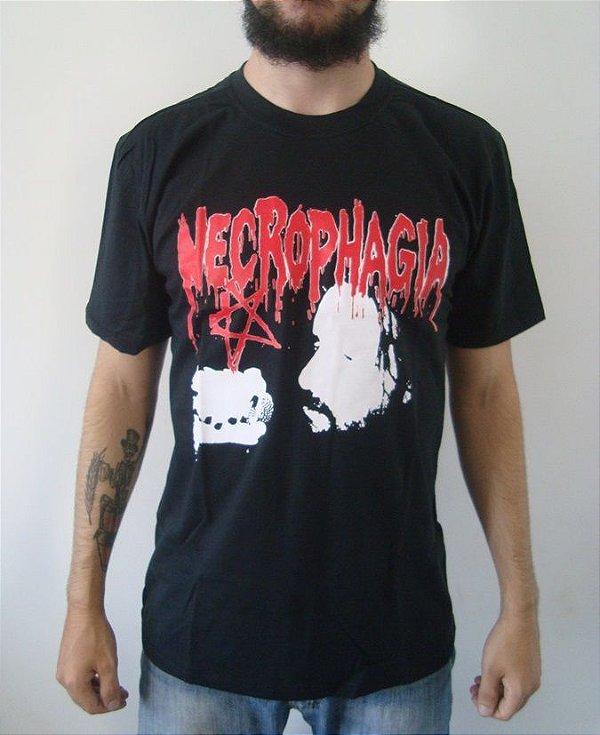 Camiseta - Necrophagia