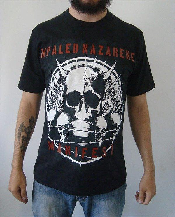 Camiseta - Impaled Nazarene - Manifest