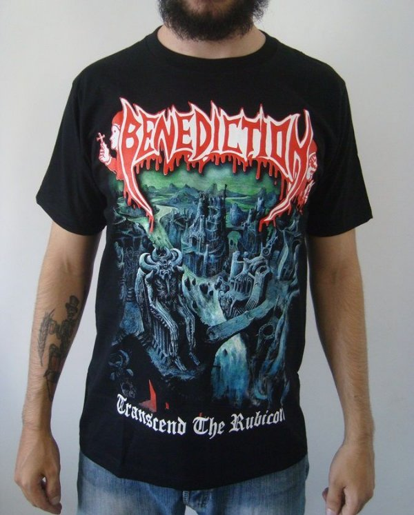 Camiseta Benediction - Transcend the Rubicon