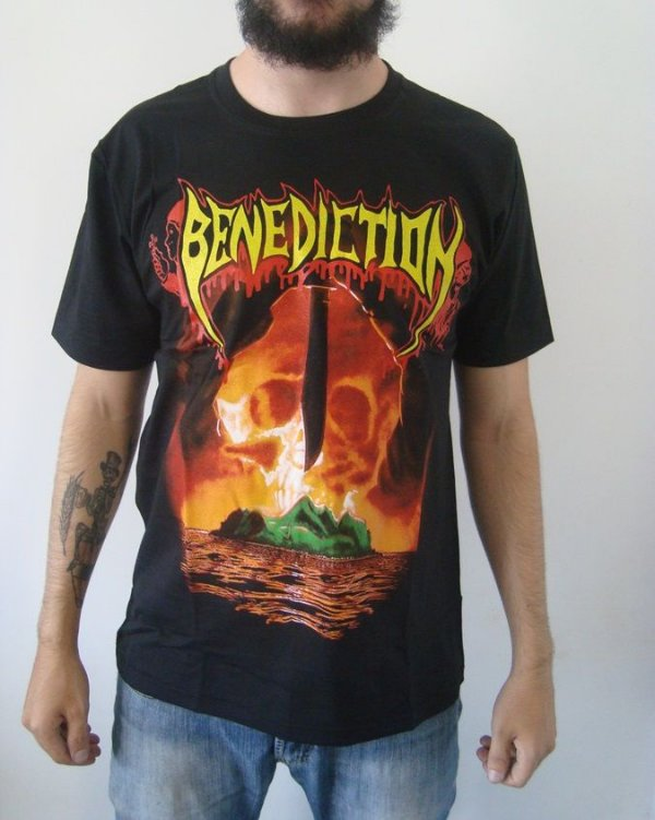 Camiseta Benediction - Subconscious Terror
