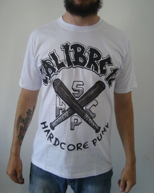Camiseta Calibre 12 - Hardcore Punk