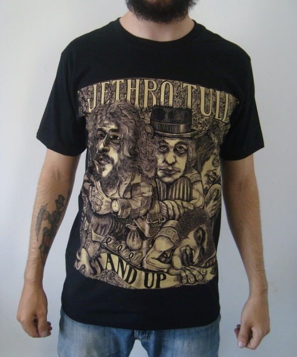 Camiseta Jethro Tull - Stand Up