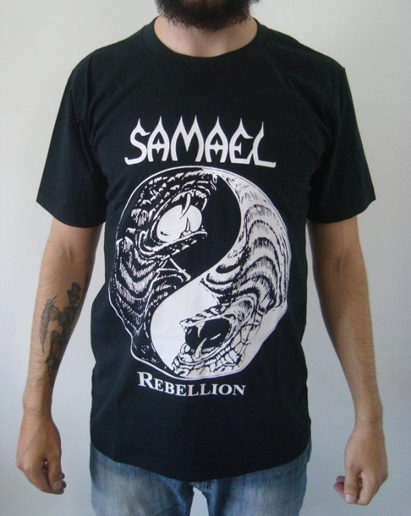 Camiseta Samael - Rebellion