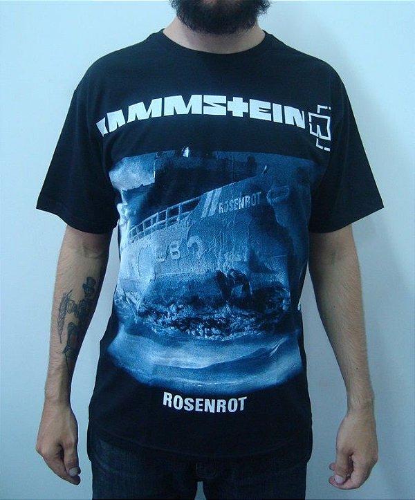 Camiseta Rammstein - Rosenrot