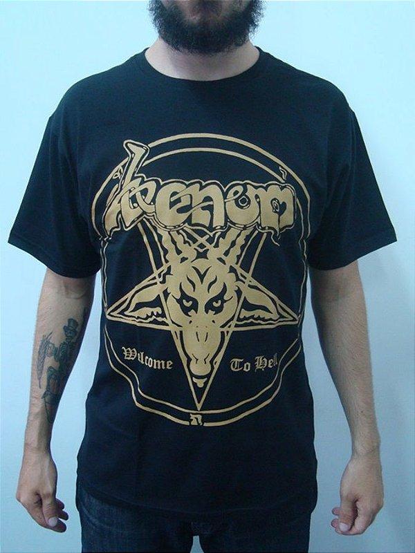 Camiseta Venom - Welcome to Hell