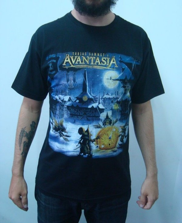 Camiseta Avantasia - The Mystery of time