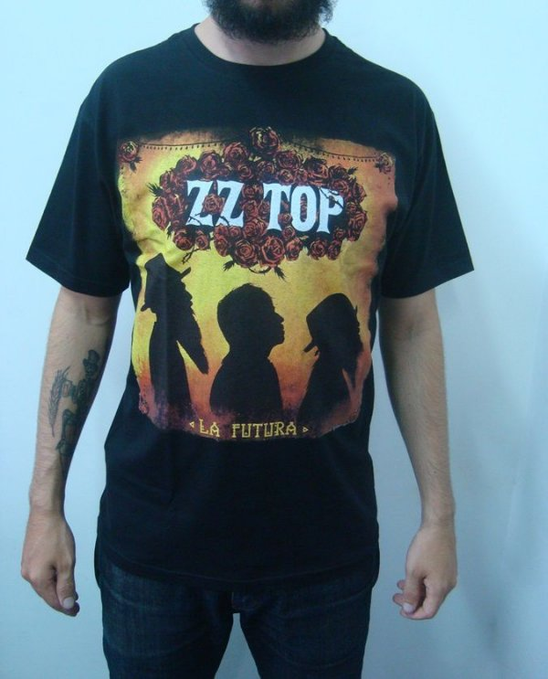 Camiseta ZZ Top - La Futura