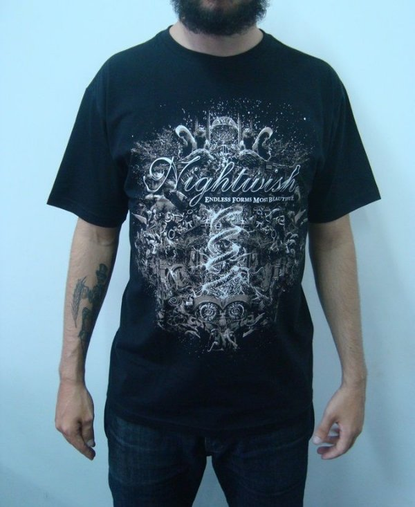 Camiseta Nightwish - Endless forms most Beautiful