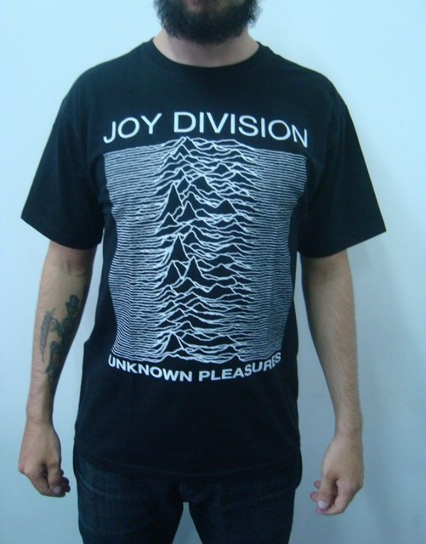 Camiseta Joy Division - Unknow Pleasures