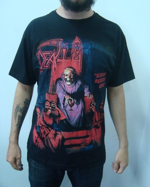 Camiseta Death - Scream Bloody Gore
