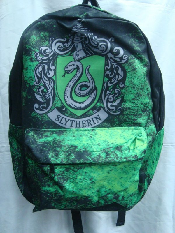 Mochila Escolar - Harry Potter - Sonserina