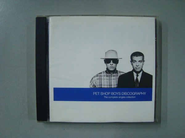 CD Pet Shop Boys Discography - The Complete Singles Collection