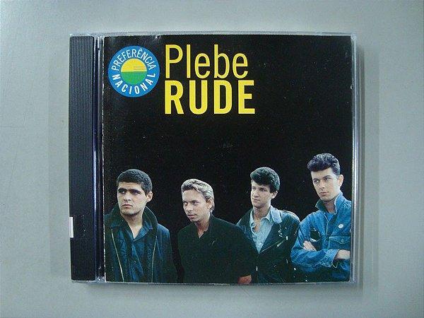 CD Plebe Rude - Preferência Nacional