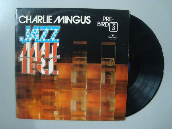 Disco de vinil - Charlie Mingus - Jazz Masters