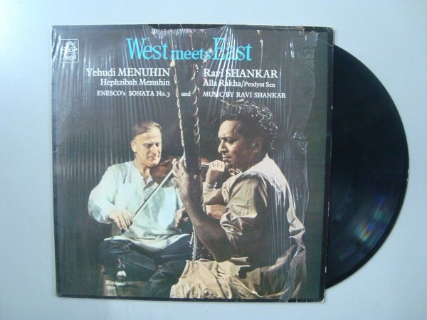 Disco de vinil - West Mee East - Yehudi Menuhin and Ravi Shankar