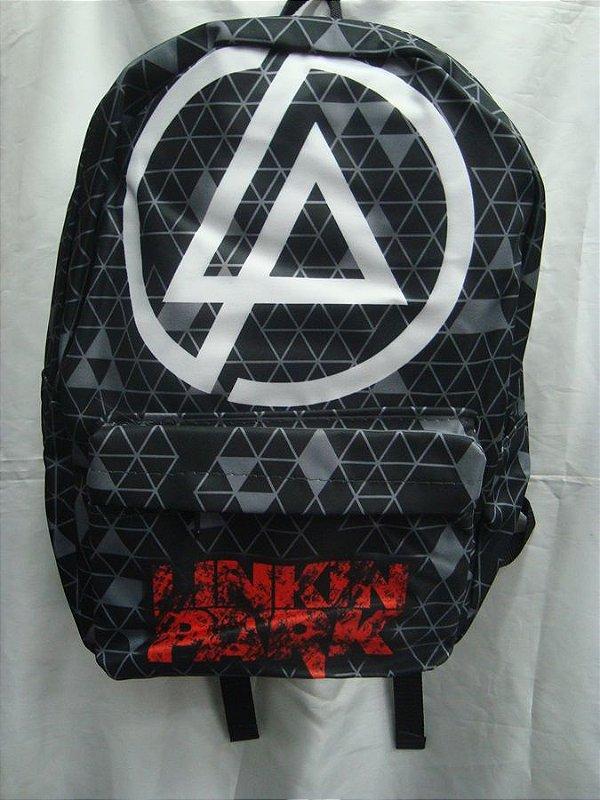 Mochila Escolar - Linkin Park - LP