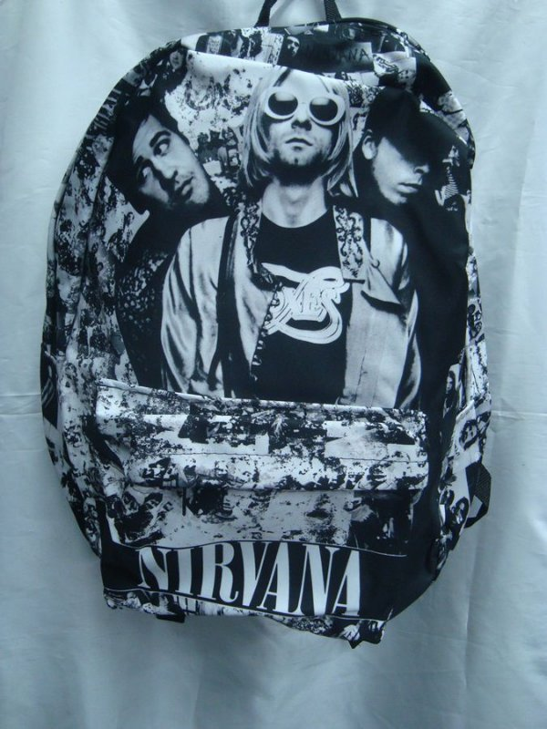 Mochila Escolar - Nirvana - Banda