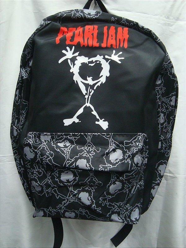 Mochila Escolar - Pearl Jam