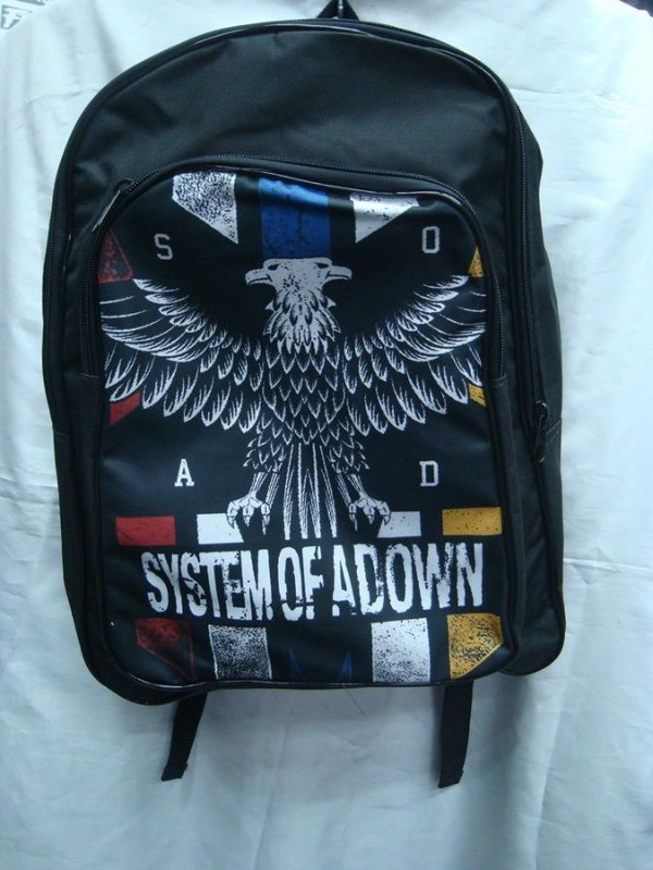 Mochila Escolar - System of a Down  - SOAD #2