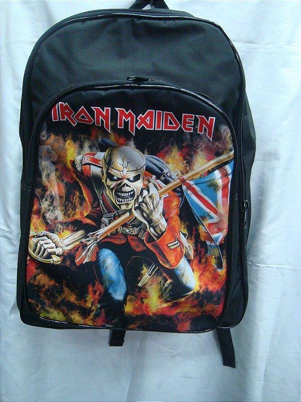 Mochila Escolar - Iron Maiden - The Trooper