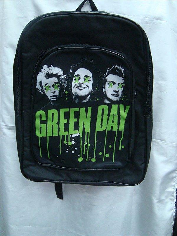 Mochila Escolar - Green Day