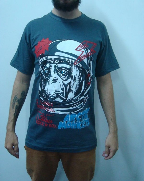 Camiseta Arctic Monkeys - I wanna rock'n'roll