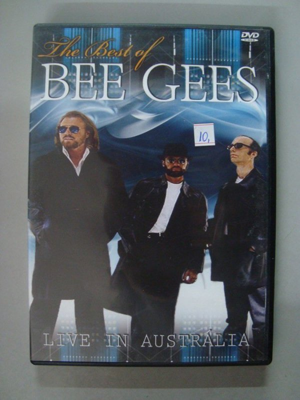 DVD Bee Gees - Best of Bee Gees - Live in Austrália