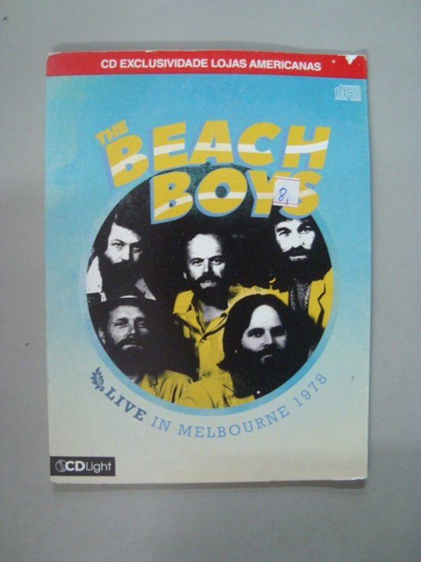 CD Beach Boys - Live in Melbourne 1978