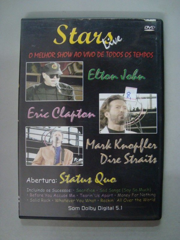 DVD Stars Live - O melhor show ao vivo de todos os tempos