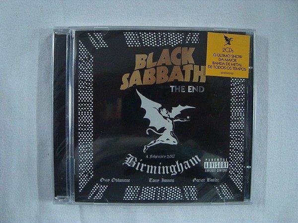 CD Black Sabbath - The End - Duplo