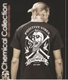 Camiseta Chemical Positive Vibes