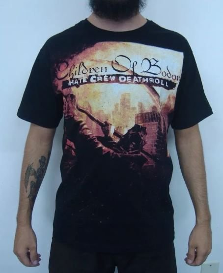 Camiseta Children of Bodom - Hate Crew Deathroll