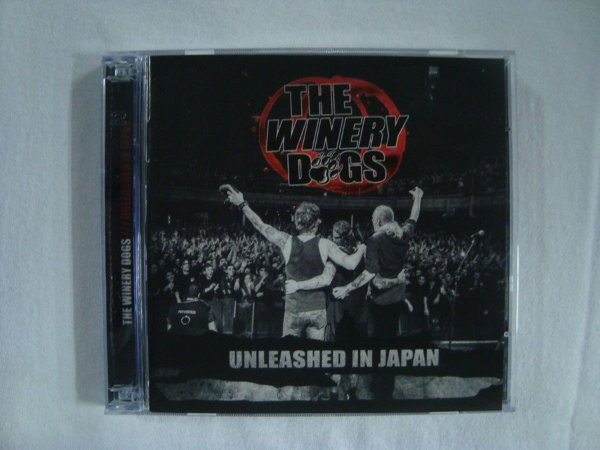 CD Winery Dogs - Unleashed in Japan
