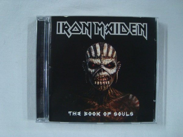 CD Iron Maiden - The Book of Souls - Duplo